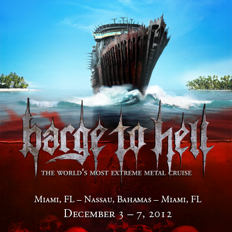 Barge To Hell Poster