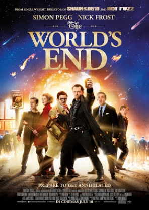 "Drinking a Pint at ""The World's End,"" Hitchhiker's Style! A Movie Review"