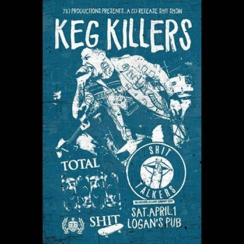 Keg Killers CD Release on Absolute Underground Records
