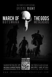 It's the March of the Gods: Botswana Metalheads!